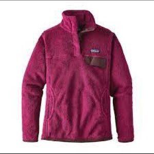 Patagonia Re tool snap tee fleece pullover
